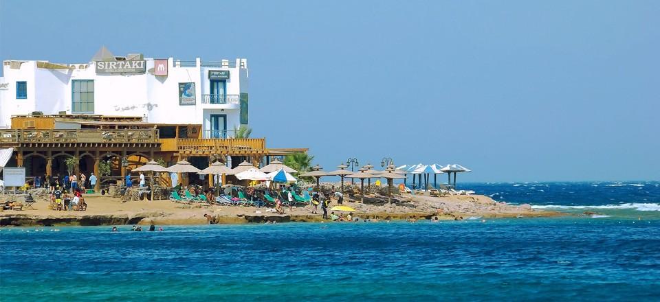 Пляж Дахаба