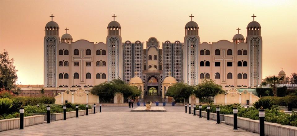 Монастырь св. Мины в Александрии