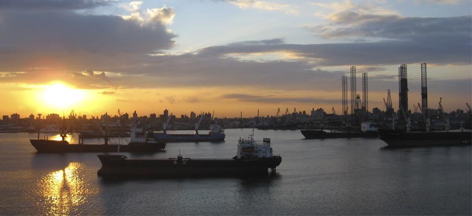 Порт в Александрии